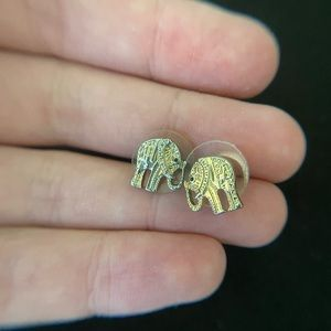 Francesca's Collections Jewelry - Elephant earrings